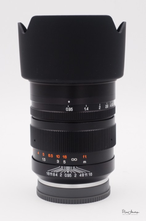 Mitakon 50mm F0.95-7