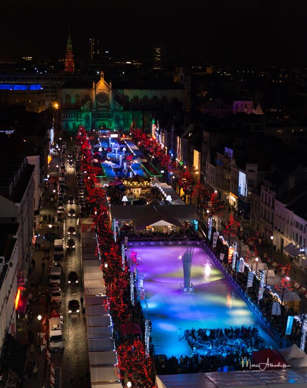 Plaisir d'hiver 2012-12 - vue patinoire nuit-001