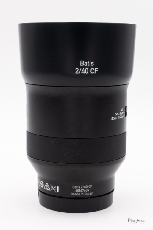 Zeiss Batis 40mm F2 CF-101