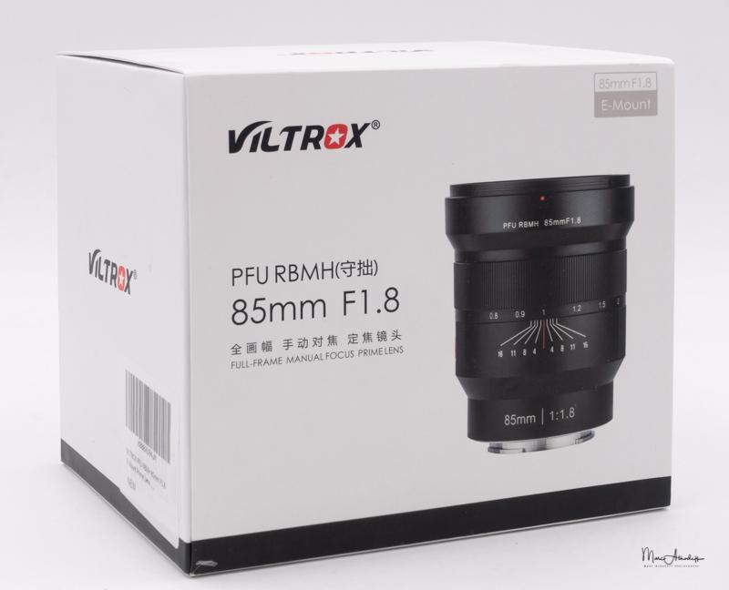 Viltrox PFU RBMH 85mm F1.8-1
