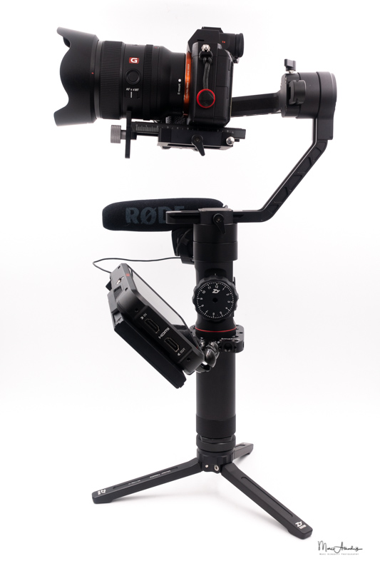 atomos ninja v, smallrig 1135 double end ball head with cold shoe and thumb screw, smallrig 2119 rod clamp for zhiyun crane2-crane v2, zhiyun crane 2- 071