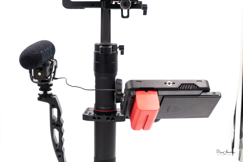 atomos ninja v, smallrig 2119 rod clamp for zhiyun crane2-crane v2, zhiyun crane 2- 073