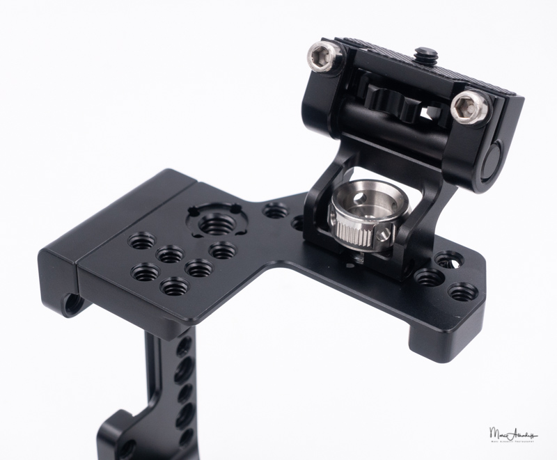 smallrig 2098 qr half cage for sony a7r iii-a7 iii-a7 ii-a7r ii-a7s ii`, smallrig 2174 monitor mount with arri locating pins- 097