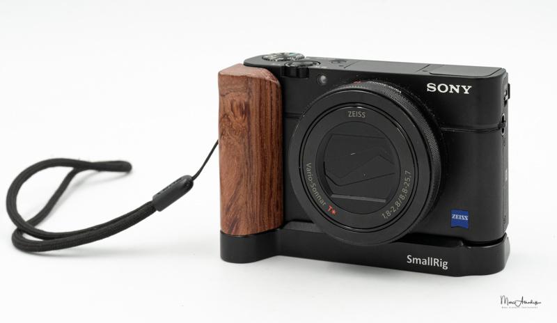 SmallRig L-shape wooden grip for Sony RX100 III IV V VA 2248-007
