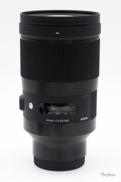 Sigma 40mm F1.4 DG HSM Art-01