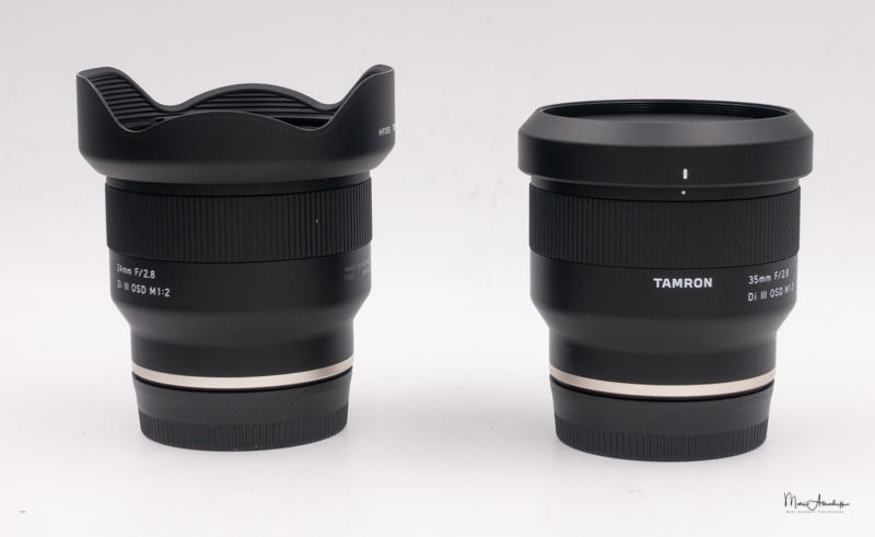 Tamron E 24mm & 35mm F2.8-1