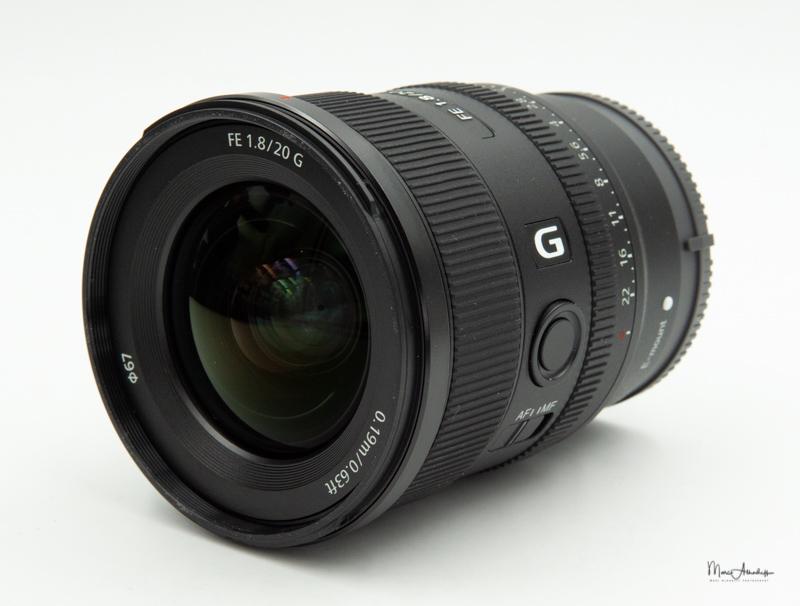 Sony FE 20mm F1.8 G-11