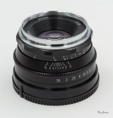 Pergear 25mm F1.8-2