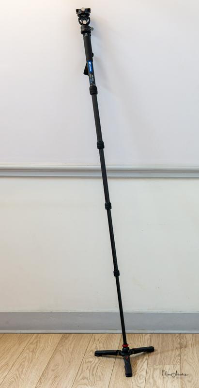 Leofoto VD-02 Universal Monopod Tripod Base-5
