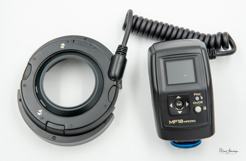 Nissin MF-18 Macro flash-20