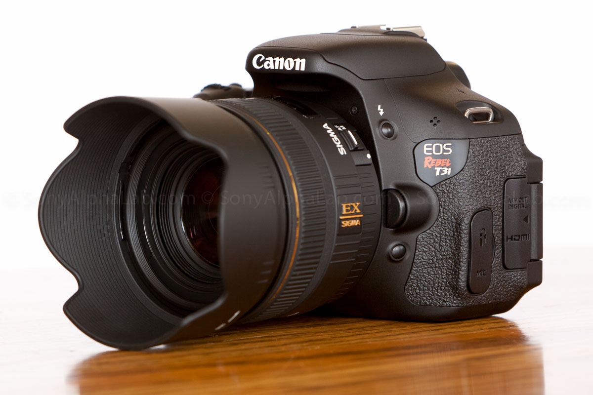 Sigma 30mm f/1.4 EX DC Lens on Canon T3i