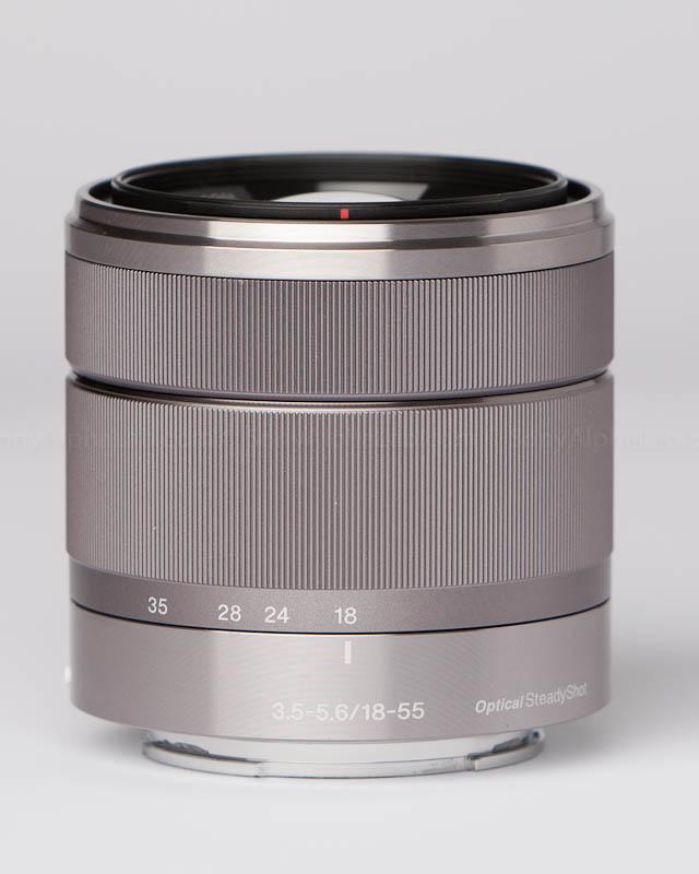 Sony E-Mount 18-55mm f/3.5-5.6 Zoom Lens @ 18mm