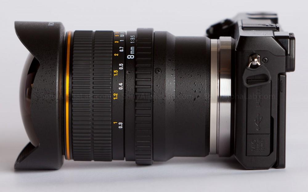 Nex-7 w/ Rokinon 8mm Fisheye Lens