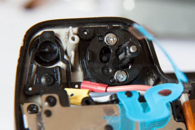 Nex-7 - On/Off Switch and Shutter Release Mechanism