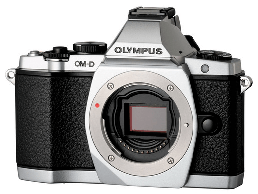 Olympus OM-D E-M5 - Body Only, Silver