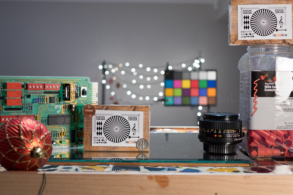 Sony RX10 - ISO Lab Testing Raw Quality - ISO 100