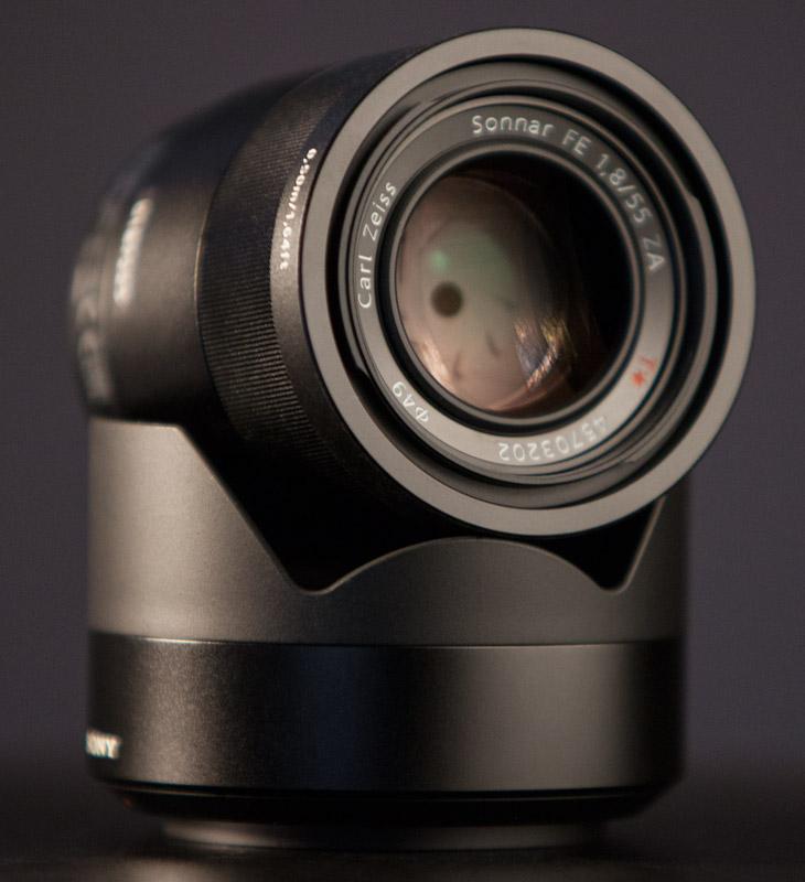 Sony Sonnar T* FE 55mm f/1.8 ZA Lens  - sel55f18z