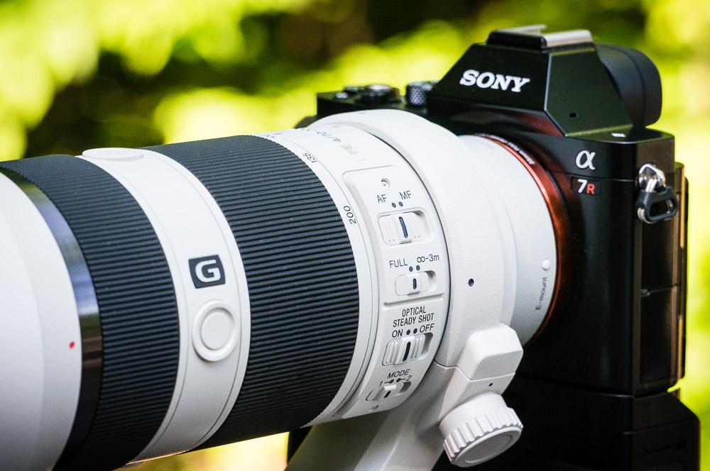 Sony A7r w/ 70-200mm f/4 OSS G Lens