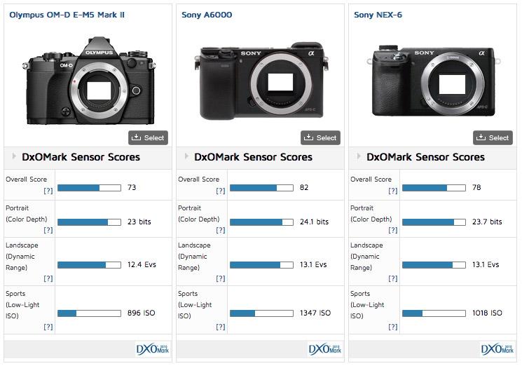 om-d-vs-nex-6-a6000-sensors