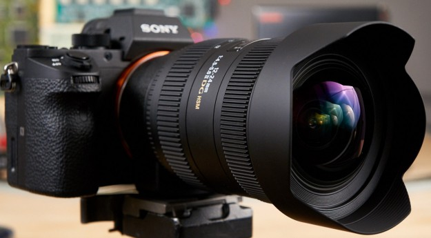 A-Mount Sigma 12-24mm f/4.5-5.6 DG HSM II Lens