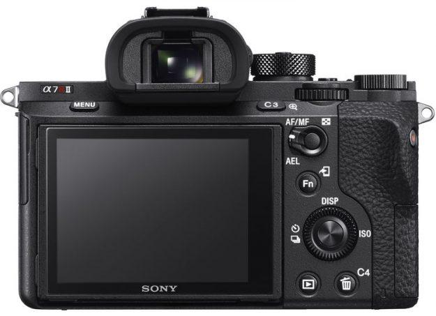 Sony A7r II - Back Side