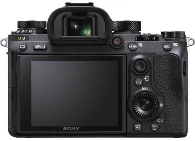 Sony A9 - Back Side