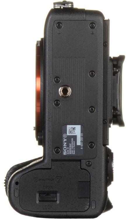 Sony A9 Bottom