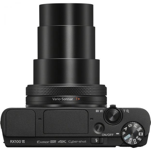 Sony RX100 VI - Top View