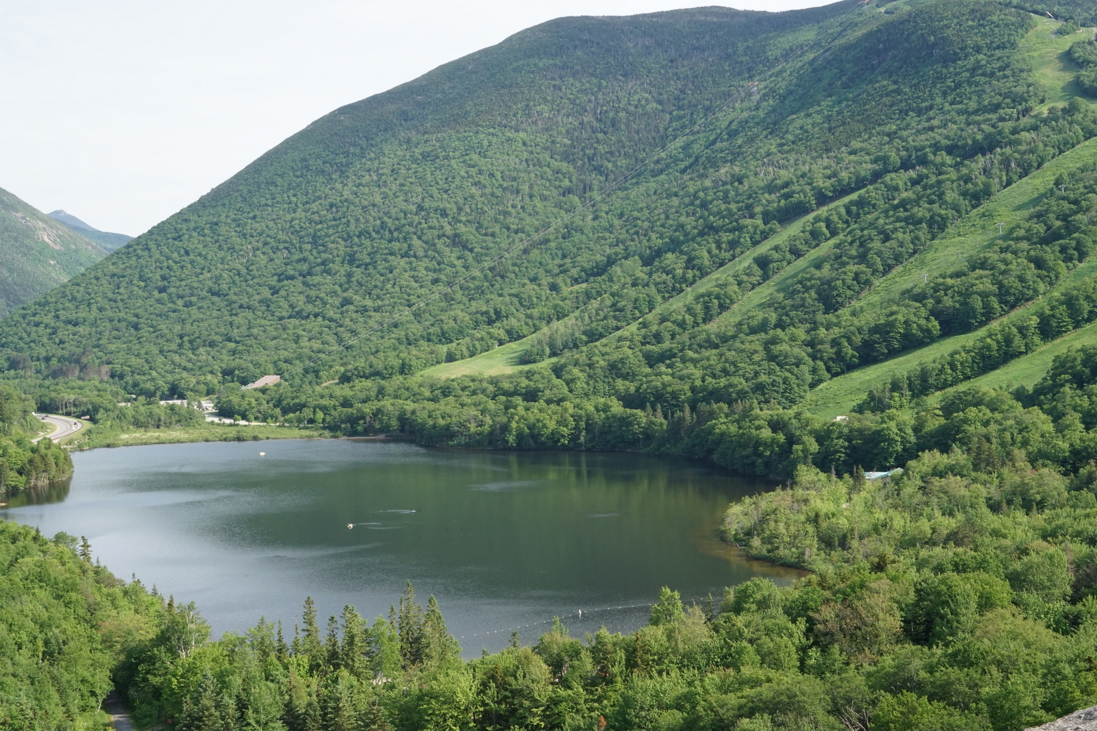 Artists Bluff Franconia Notch State Park New Hampshire Fabulous Vistas Short Easy Hike