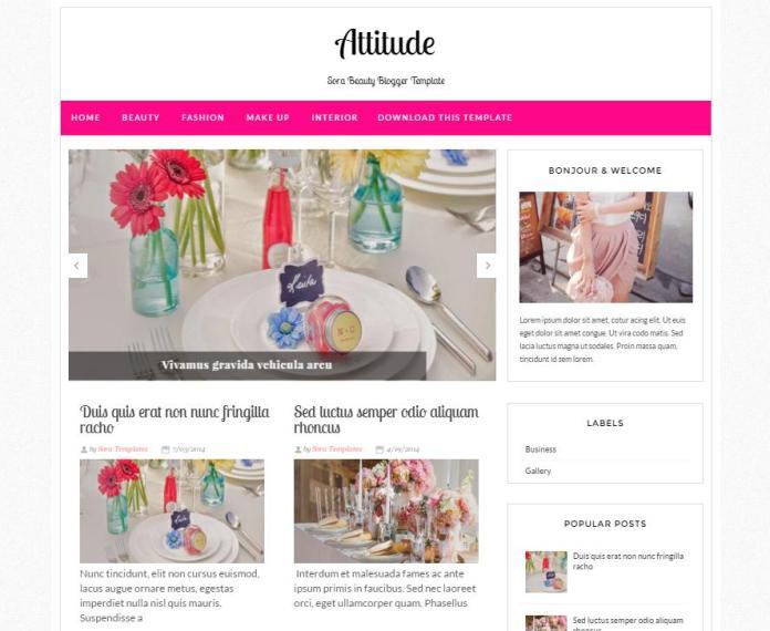 top 25 template blogspot mien phi tot nhat - Template 25