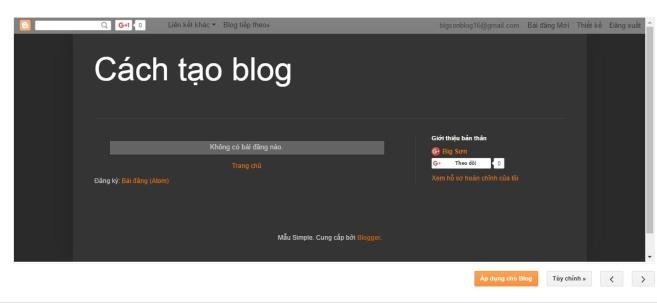 cach thay doi giao dien cho blogspot - 4