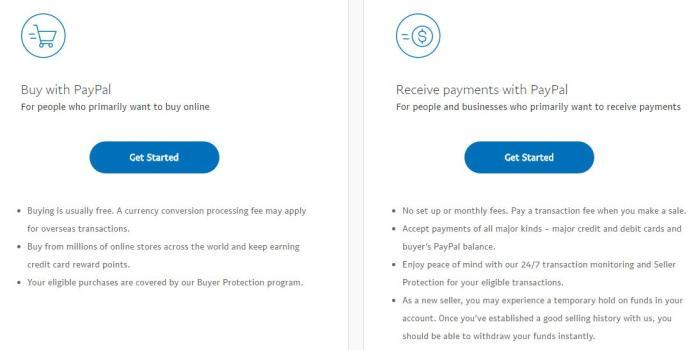 Cách đăng ký PayPal - Ảnh 2
