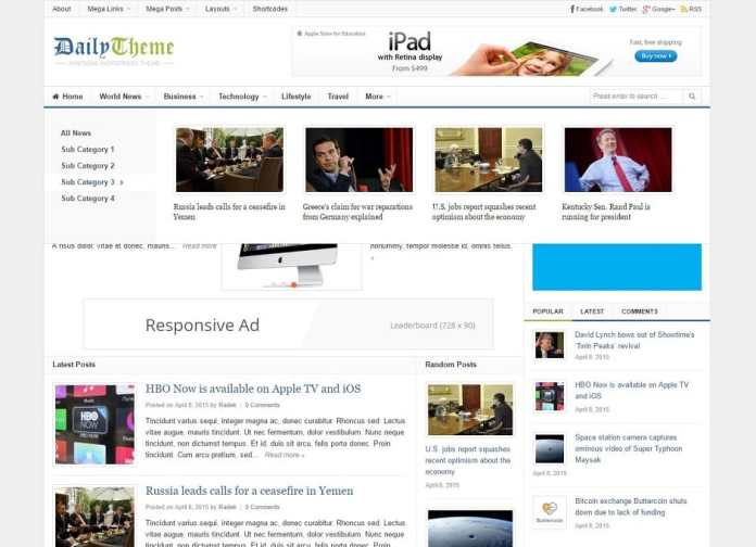 Theme WordPress gia re - 1