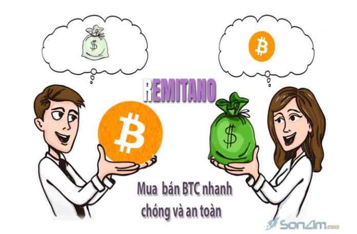 Cách mua bán Bitcoin trên Remitano