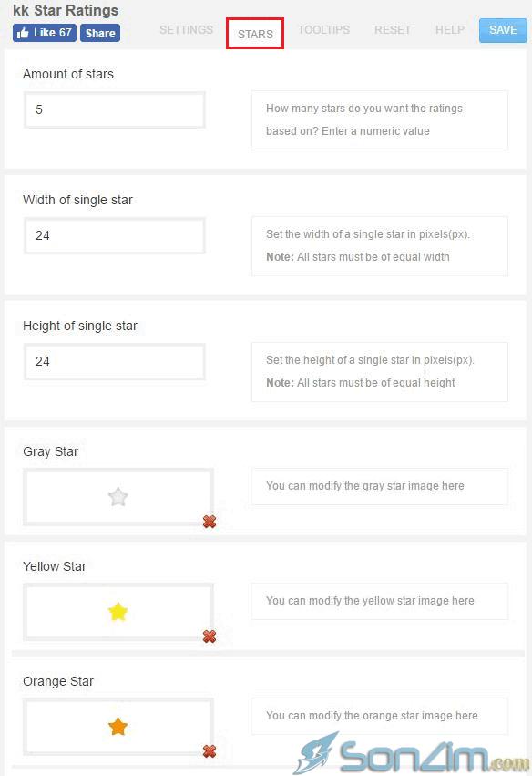 Sử dụng plugin kk Star Ratings đánh giá bài viết bằng số ngôi sao - 3