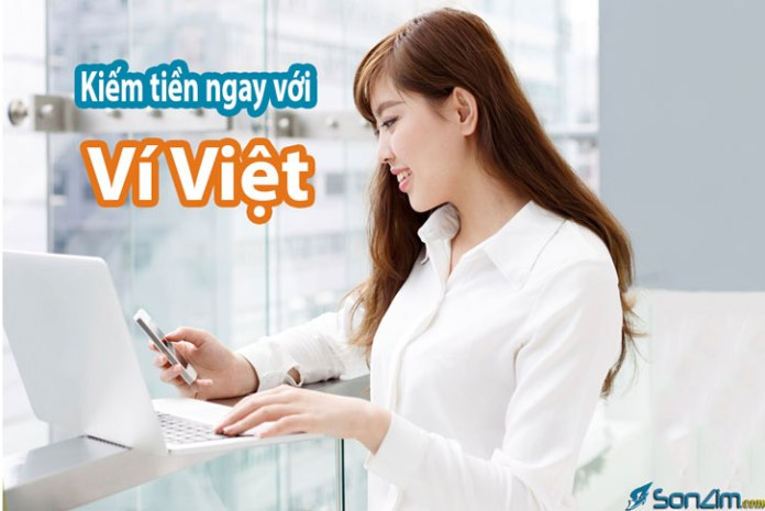 Kiếm tiền online bằng điện thoại với ứng dụng Ví Việt - 1