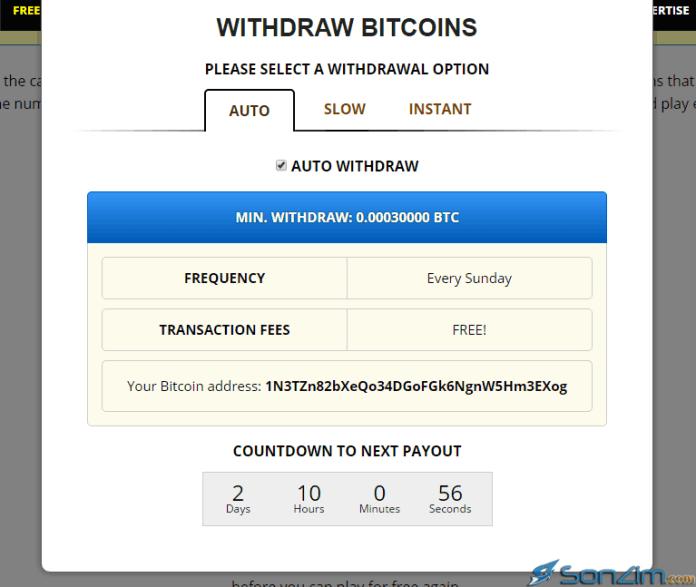 Cách rút bitcoin trênFreeBitcoin - 2