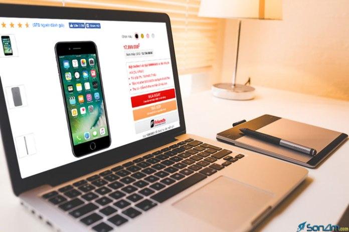 Những website bán điện thoại online lớn nhất Việt Nam