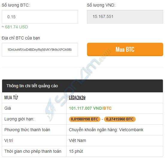 Cách mua Bitcoin tạiRemitano - 2