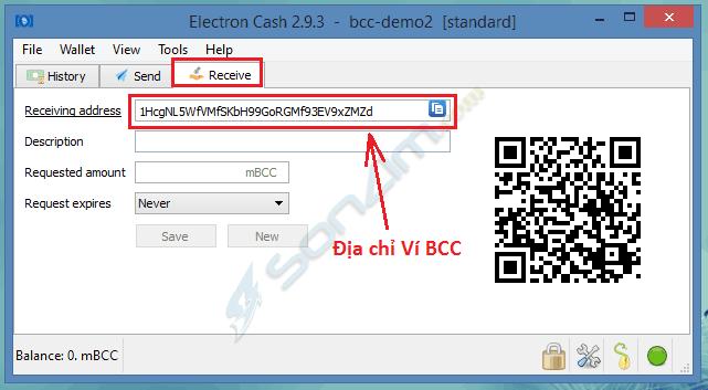 Hướng dẫn cách tạo Ví Bitcoin Cash với Electron Cash - 10