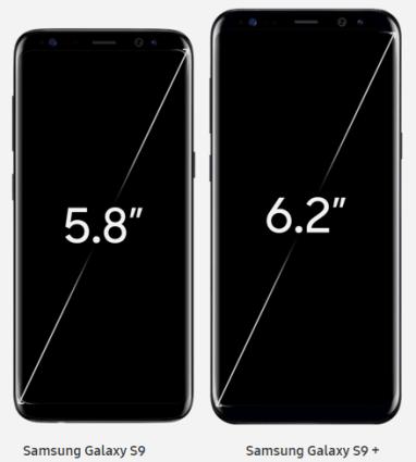 Màn hình samsung Galaxy S9 và S9+ - Ảnh 3