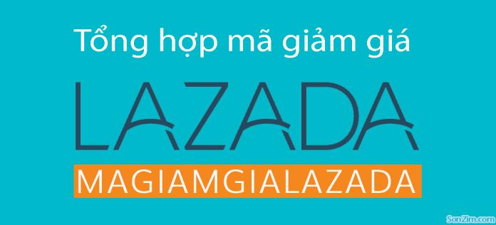 Mã giảm giá Lazada tổng hợp