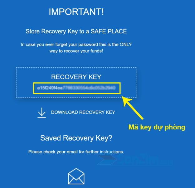 Cách tạo ví Ripple (XRP) trên GateHub - Bước 3