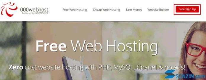 Cách đăng ký hosting miễn phí trên 000webhost - Bước 1