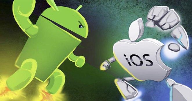 So ánh Android và iOS - Ảnh 2