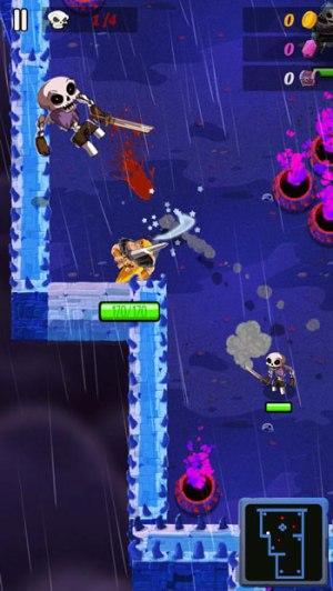 Top 20 game offline hay dành cho Smartphone - Barbaric: The golden Hero