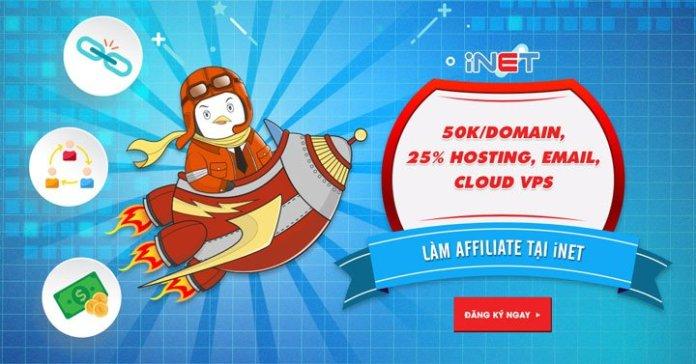 Kiếm tiền online với chương trình Cộng Tác Viên của iNET.vn