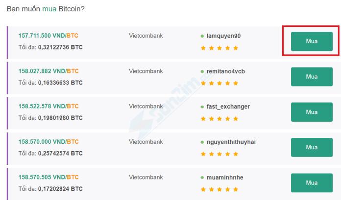 Cách mua Bitcoin trên Remintano - Bước 1b