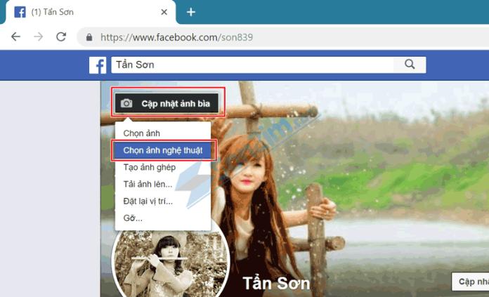 Cách sử dụng Video làm ảnh bìa Facebook - Bước 3