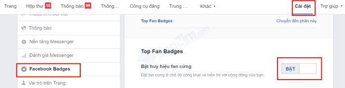 Cách bật Fan Cứng cho Fanpage faccebook